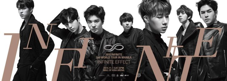 The official poster of the Infinite Effect in Manila. Photo courtesy of Happee Hour's FB page.